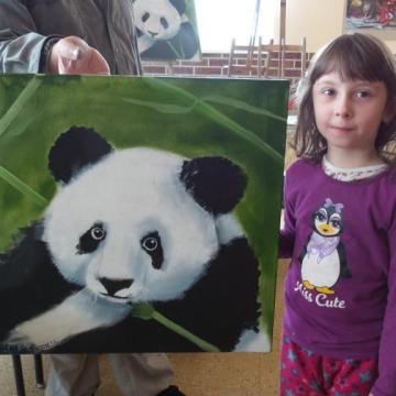 Panda - Štěpánka 8 let